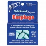 SafeSound Soft Foam Earplugs -5 Pair
